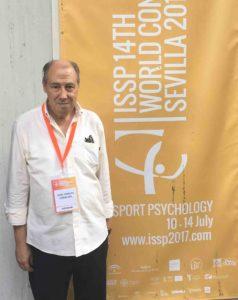 El Dr. Caracuel en el Congreso Mundial de Sevilla en julio 2017