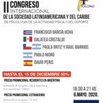 II Congreso SOLCPAD en mayo de 2020