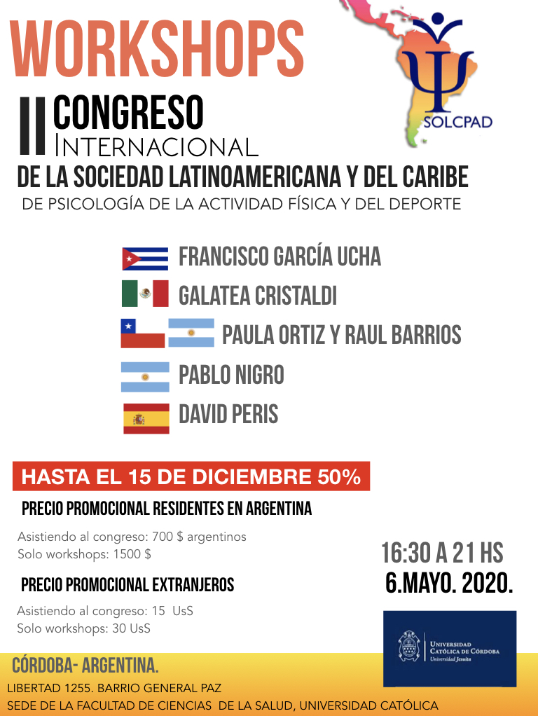 II Congreso Solcpad del 6 al 9 de Mayo de 2020 en Códdoba (Argentina)